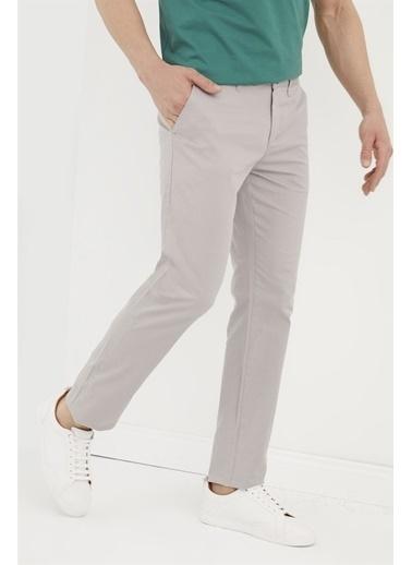 Z Giyim Likralı Keten Pantolon Taş